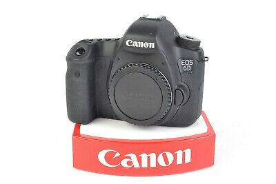 Canon EOS 6D (WG) 20.2MP DSLR Camera (Body Only) Shutter Count: 6,714 #E5635