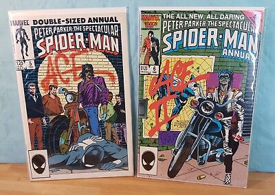 2 Comics VO marvel _ Peter Parker the Spectacular Spider-Man Annual #5/6 1985/86