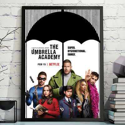 The Umbrella Academy Netflix Tv Show Poster A4 A3 Birthday Gift