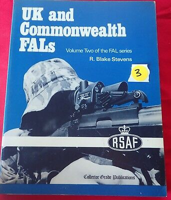 BOOK TITLED UK and Commonwealth FALS Vol 2 by R Blake Stevens fals rifle