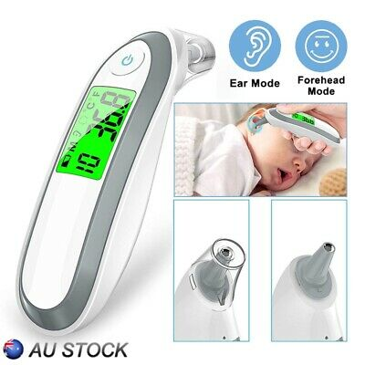 New Body Thermometer Forehead Baby Adult Surface Temperature Digital IR Infrared