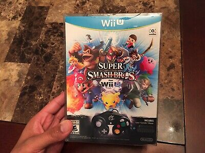Super Smash Bros Wii U Bundle - Brand New Factory Sealed!! Collector's Edition