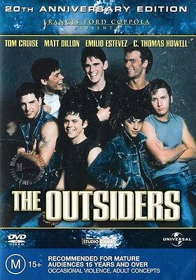 The Outsiders (DVD, 2003) NEW