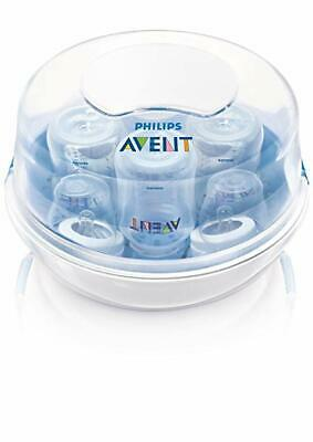 Philips Avent Microwave Steam Sterilizer 3 in 1 for 4 Baby Bottles -NEW Open Box