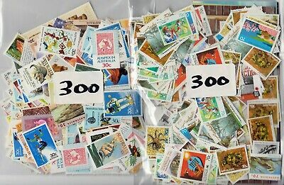 $1 ( 2 Stamps ) X 300 Australia  Postage Stamps  Mint Full Gum Face Value $300