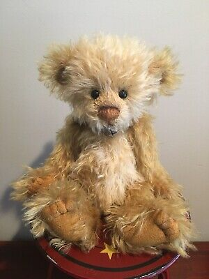 Charlie Bears/Isabelle Collection Vanilla Slice 100% Mohair
