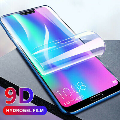 For Samsung Galaxy S10 9D Soft Clear Full Curved Screen Protector Hydrogel Film