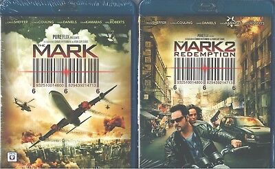 MARK, THE 1 & 2: Redemption-Christian-Craig Sheffer-Eric Roberts-NEW 2 BLU RAY