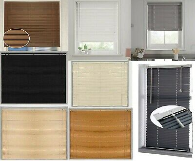 PVC Venetian Blinds Blind White Grey Easy to Fit Window Office Home WD Fittings