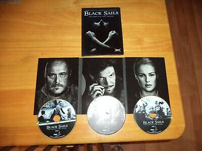 Black Sails First Season Complete 3 DVDs in Good Condition Series Movie