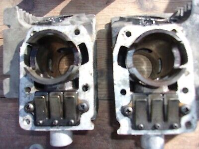 Suzuki GT 125 X4 Cylindres Pistons Culasses Heads Jugs Cylinders Pistons