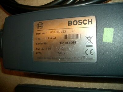 Bosch OBD Can Cable with UBOX 02 for KTS 520, 550 & 650