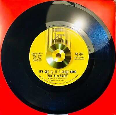 ** The Tiffanies ** It's Got To Be A Great Song *Vg++ *Northern Soul