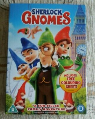 Sherlock Gnomes, 2018, Region 2 Dvd, Only Watched Once