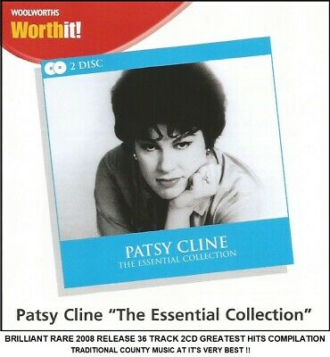 Patsy Cline - Very Best Greatest Hits Collection - RARE 60's Country Music 2CD