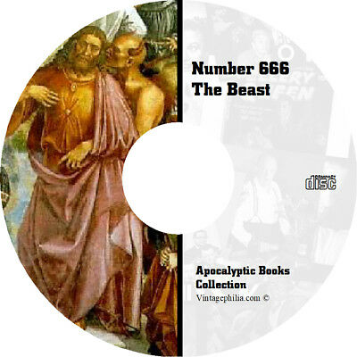 * Number 666 Satanic Beast Apocalpytic * 200+ Rare Ancient Books Pdf/txt Dvd *