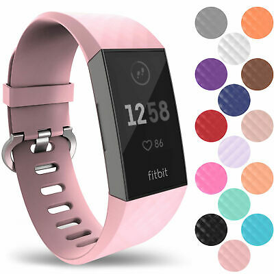 New Fitbit Charge 3 Wrist Straps Wristband Best Replacement Accessory Watch UK