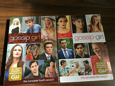 Gossip Girl: The Complete Fourth and Fifth Season (DVD, 2011, 5-Disc Set)
