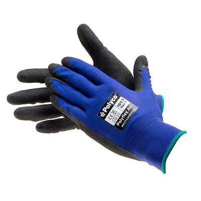 Bodyguard 1803 Polyflex Air Work Gloves 10 Pairs Size 9 Large Protection