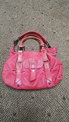 529d63cec48 Botkier Sasha Medium Hobo Pink Leather Purse Handbag Duffel Tote Satchel