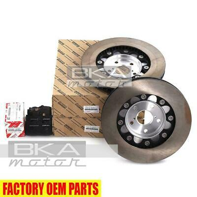 NON-SPORT PACKAGE ONLY LEXUS OEM FACTORY FRONT ROTOR SET 2007-2013 LS460 RWD