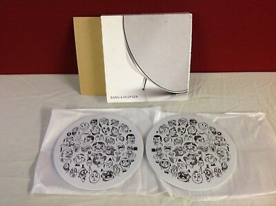 BeoPlay A8 BeoSound 8 Speaker Covers WHITE FACES, Bang & Olufsen, VERY RARE !!!