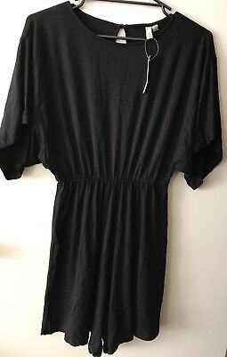 ASOS Maternity Black Playsuit *BNWT* Size U.K. 6/ U.S. 2. Combined Post