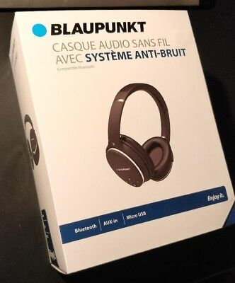 Casque Audio Blaupunkt Blp4400 Bluetooth Sans Fil Anti Bruit Eur