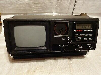 Vintage Bush BN6520A Portable Radio with Television. Working - Spares or Repair.