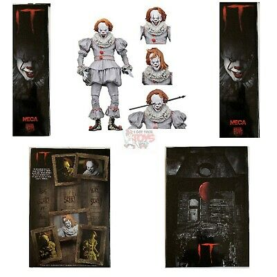 """ULTIMATE PENNYWISE WELL HOUSE Neca STEPHEN KING (2017 MOVIE) 2019 7"""" Inch FIGURE"""