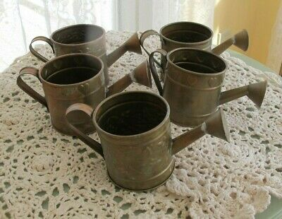Br Miniature Watering Cans Set Of 5 From Elegant Expressions