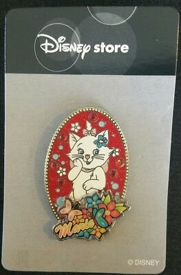 Japan Tokyo Disney Store JDS - Aristocats Marie Cat Kitten Paradise Oval Pin