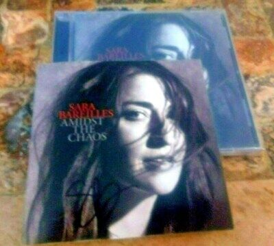 Autographed Sara Bareilles - Amidst The Chaos CD Signed