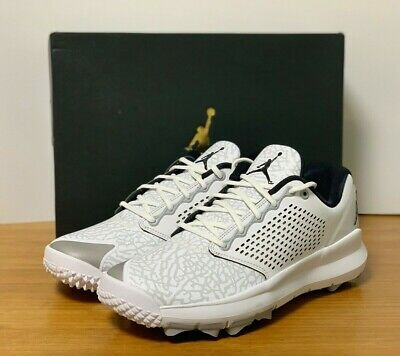 2e107bc3d46f NIKE JORDAN TRAINER ST G Golf Shoes AH7747 White Navy 12 -  224.99 ...