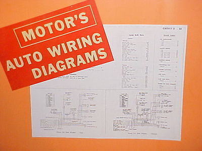 1963 63 1964 64 Chevrolet Nova Impala Belair Corvair Nos Gm ...  Chevy Ii Ss Wiring Diagram on 1964 chevy voltage regulator, chevy v6 firing order diagram, 1964 chevy coil, 1964 chevy impala starter wiring, 1964 chevy headlight switch, 1964 chevy carburetor, 1964 chevy motor, 1964 chevy paint code, 1964 chevy rear suspension, 1964 chevy radiator, 1965 chevy ignition switch diagram, 1964 chevy gas tank wiring, 1964 chevy wire harness, 1964 chevy power steering, 1964 chevy brakes, 1964 chevy fuel pump, 1964 chevy wheels, 1964 chevy ignition switch, 1964 chevy frame, chevy fuse block diagram,