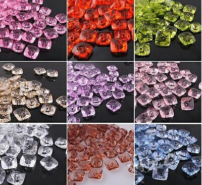 E366 Upick 16mm New Plastic Buttons Sewing Notions Crafts Accessories 60/180pcs