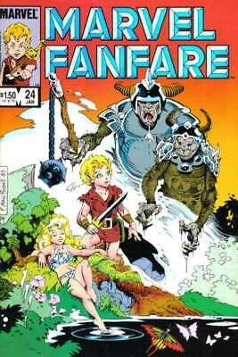Marvel Fanfare (1982 series) #24 in Very Fine + condition. Marvel comics [*su]