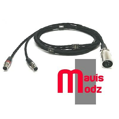 Audeze lcd-2/3/x ZMF 16core (30x0.08mm) braided SP-OCC  balanced 4 pin xlr cable