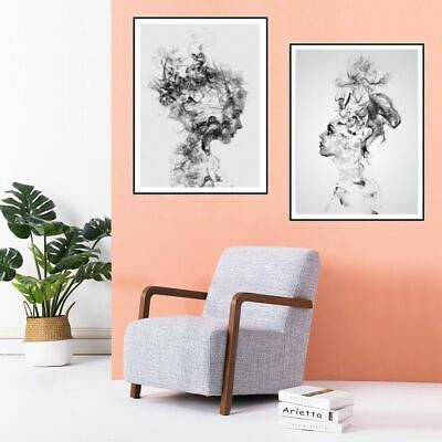 Girl Bedroom Home Decor Canvas Print Wall Painting Poster Hanging Decoration