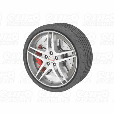 """Universal Alloy Wheel Protector Fits Wheels Up To 22"""" Prevents Kurb Marks Black"""