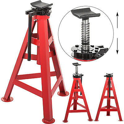 """High Jack Stand 10Ton Heavy Duty 11.8"""" Large Capacity Truck High Lift Hydraulic"""