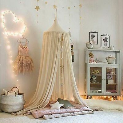 Tent Dome Round Kids Play Room Princess Bed Canopy Mosquito Net Decoration Home