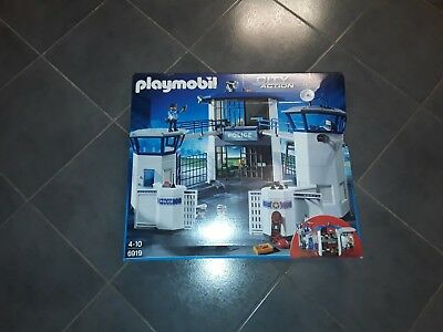 police , passerelle sympa pièce commissariat 6919   playmobil 0271