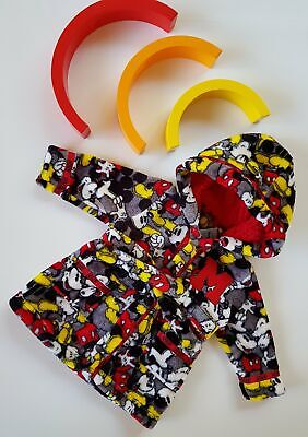 Baby boys disney Mickey mouse dressing gown in 00 / 3-6 months brand new