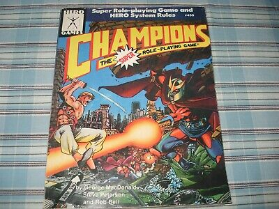 Champions - Champions The Super Role Playing Game - Hero Games - 450 - Rare