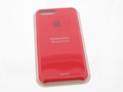 Original Apple iPhone 7 Plus / Apple iPhone 8 Plus Silikon Case in Rot