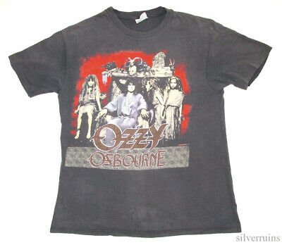Ozzy Osbourne Vintage T Shirt 80's 1988 No Rest For The Wicked Tour Concert LP