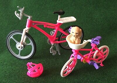 Barbie And Sister Stacie Cycles x 2