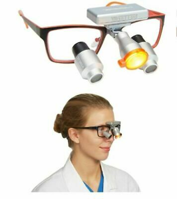 Cordless Led Dental / Medical Butterfly Headlight + 3 Battery Pack