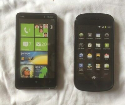 Lot De 2 Telephones Factices Htc & Samsung En Tres Bon Etat